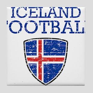 Iceland Football Tile Coaster