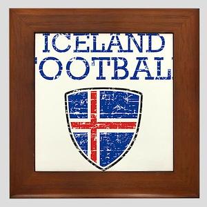 Iceland Football Framed Tile