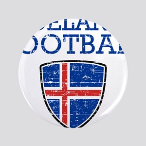Iceland Football Button