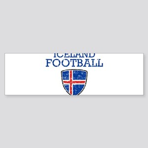 Iceland Football Sticker (Bumper)
