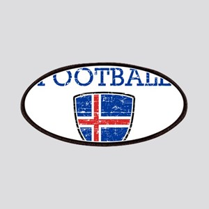 Iceland Football Patch