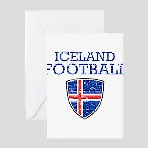 Iceland Football Greeting Card