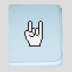 Digital Hand baby blanket