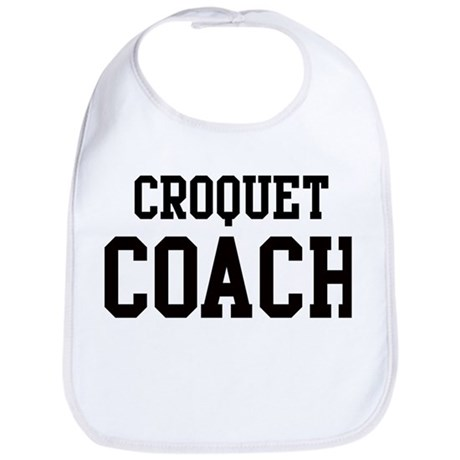 CROQUET Coach Bib