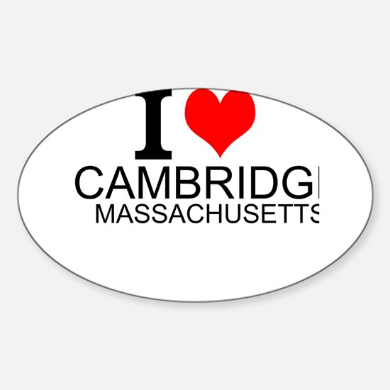 I Love Cambridge, Massachusetts Decal