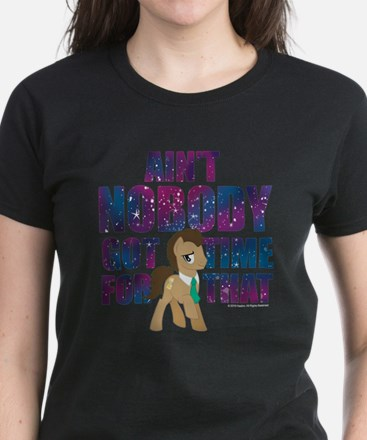 MLP Dr. Hooves Women's Dark T-Shirt