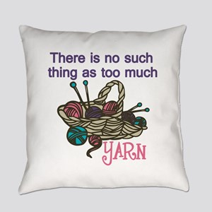 Yarn Balls Everyday Pillow