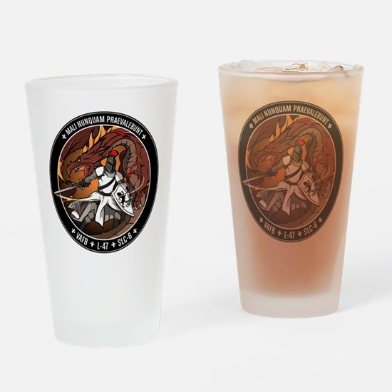 NROL-47 Program Logo Drinking Glass