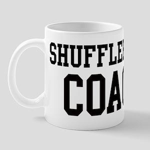 SHUFFLEBOARD Coach Mug