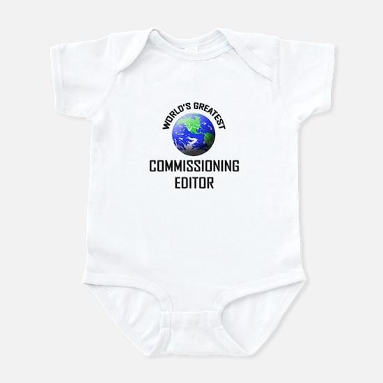World's Greatest COMMISSIONING EDITOR Infant Bodys