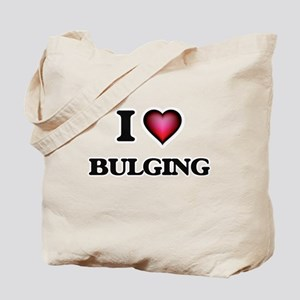 I Love Bulging Tote Bag