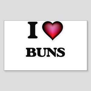 I Love Buns Sticker