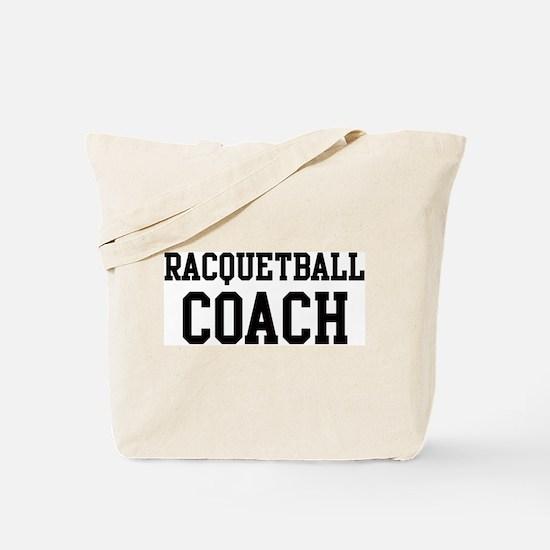 RACQUETBALL Coach Tote Bag