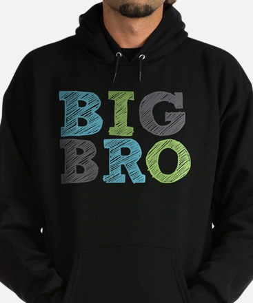 Funny Big brother Hoodie (dark)