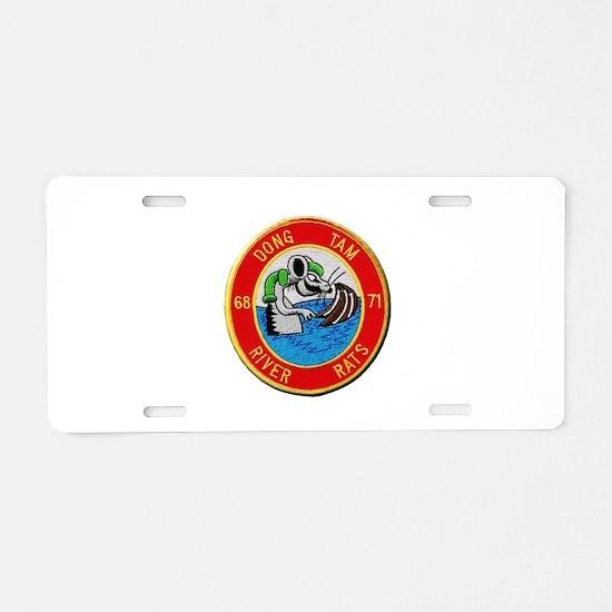 Dong Tam River Rats Aluminum License Plate