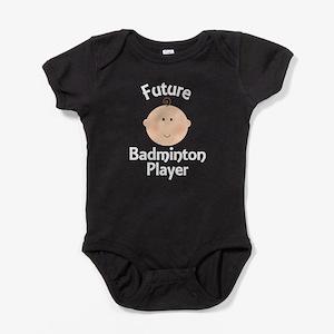 Future Badminton Player Baby Bodysuit