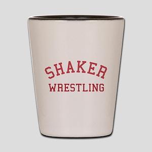 Shaker Wrestling Shot Glass