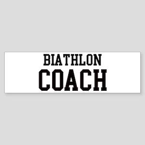BIATHLON Coach Bumper Sticker