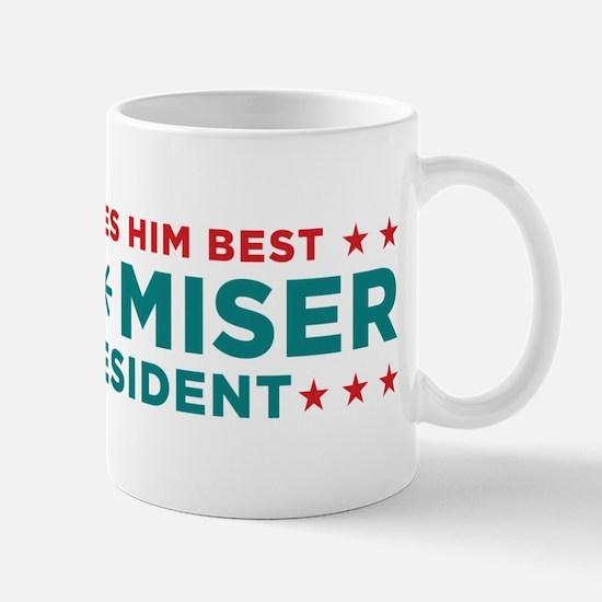 Snow Miser for President Mugs
