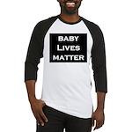 Baby Lives Matter Baseball Jersey