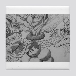 Monster Mash Tile Coaster
