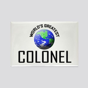 World's Greatest COLONEL Rectangle Magnet
