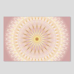 Gold Rose Geometric Manda Postcards (Package of 8)