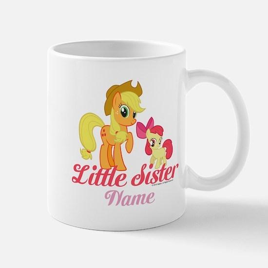 MLP Little Sister Personalized Mug