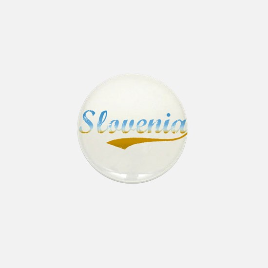 Slovenia beach flanger Mini Button