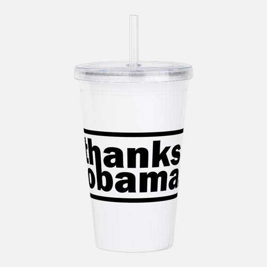 Unique Obama Acrylic Double-wall Tumbler