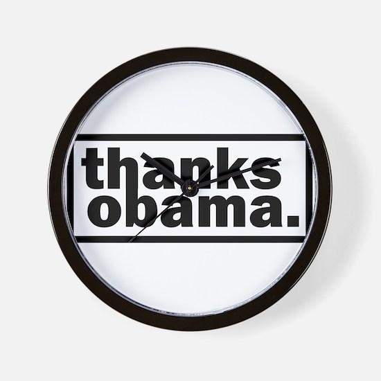 Funny Obama funny Wall Clock