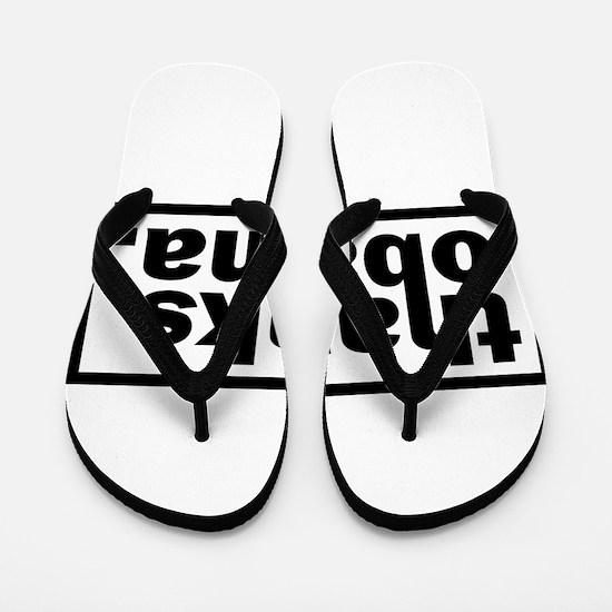 Cute Obama president Flip Flops