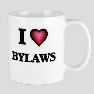 I Love Bylaws Mugs