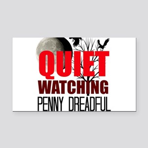 Quiet Watching Penny Dreadful Rectangle Car Magnet