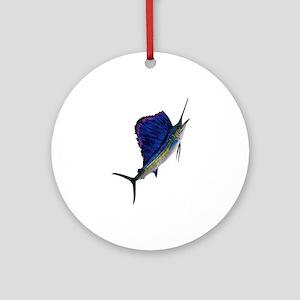 SAILFISH Round Ornament