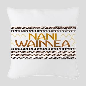Nani Waimea Woven Throw Pillow