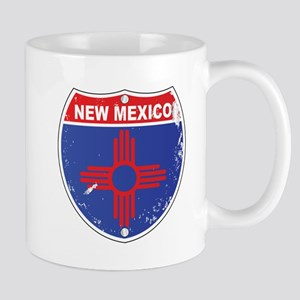 New Mexico Highway Sign Mugs