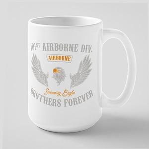 101st Airborne Brothers Large Mug