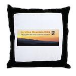 Carolina Mountain Dog Masthead Throw Pillow