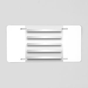 Set Of 5 Shelves Aluminum License Plate