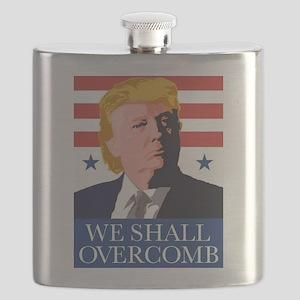 Donald Trump Combover Flask