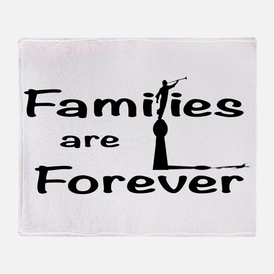 Families Are Forever Throw Blanket