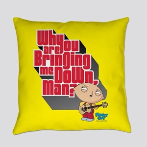 Family Guy Bringing me Down Everyday Pillow