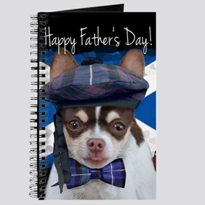 Father's Day Chihuahua Dog Journal