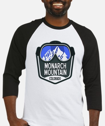 Monarch Mountain Baseball Jersey