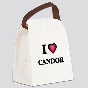 I love Candor Canvas Lunch Bag