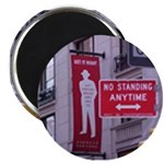 "The Standing No Standing 2.25"" Magnet (100 pa"