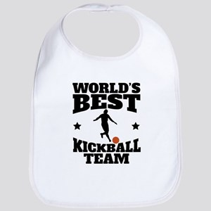 Worlds Best Kickball Team Bib