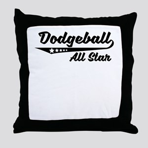 Dodgeball All Star Throw Pillow