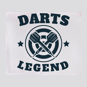 Darts Legend Throw Blanket